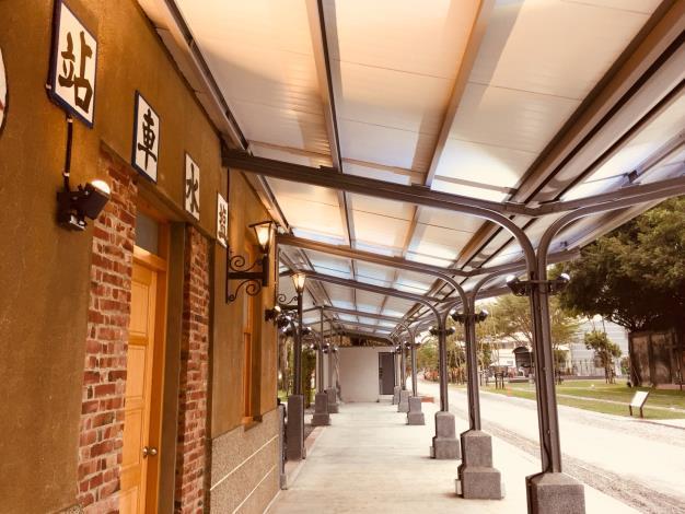 照片二、 鹽水車站週邊環境改造