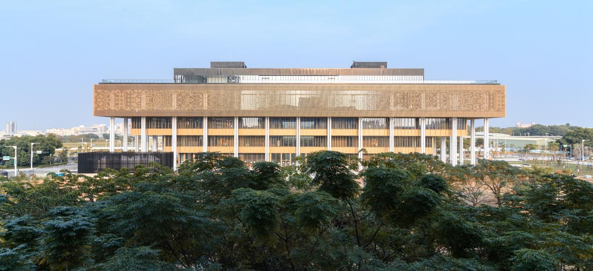 臺南市立圖書館新總館  大樹意象的展現