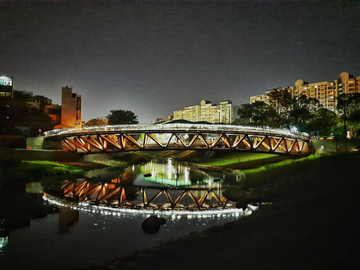 臺南觀光新亮點-竹溪月見橋
