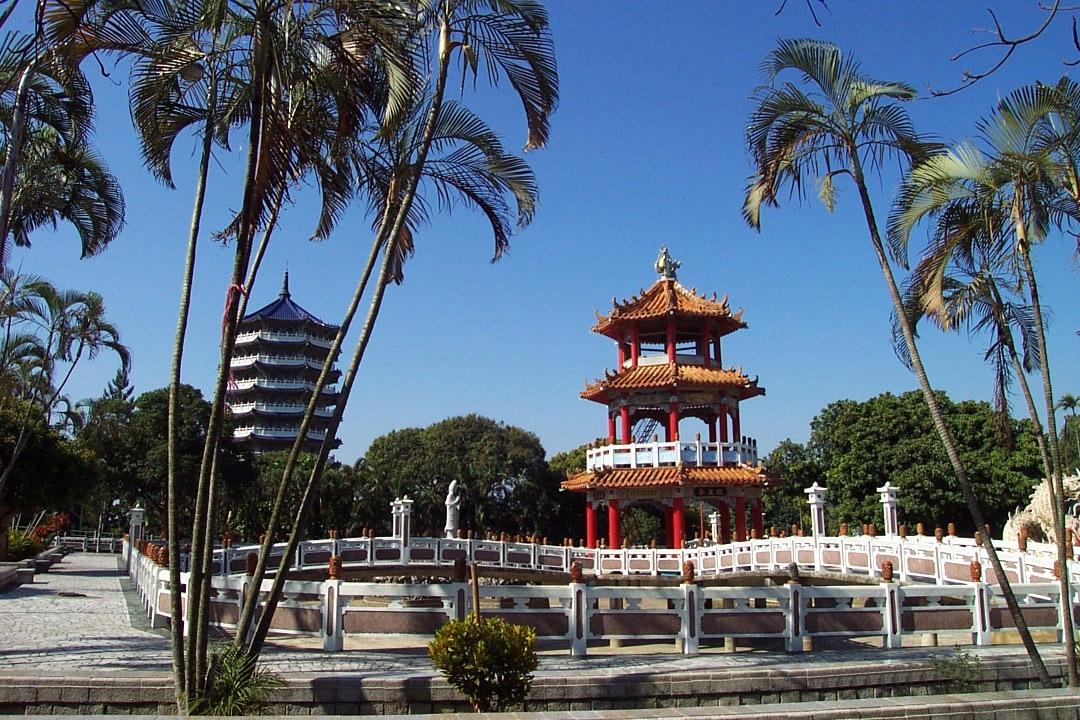 大仙寺週遭綠意盎然