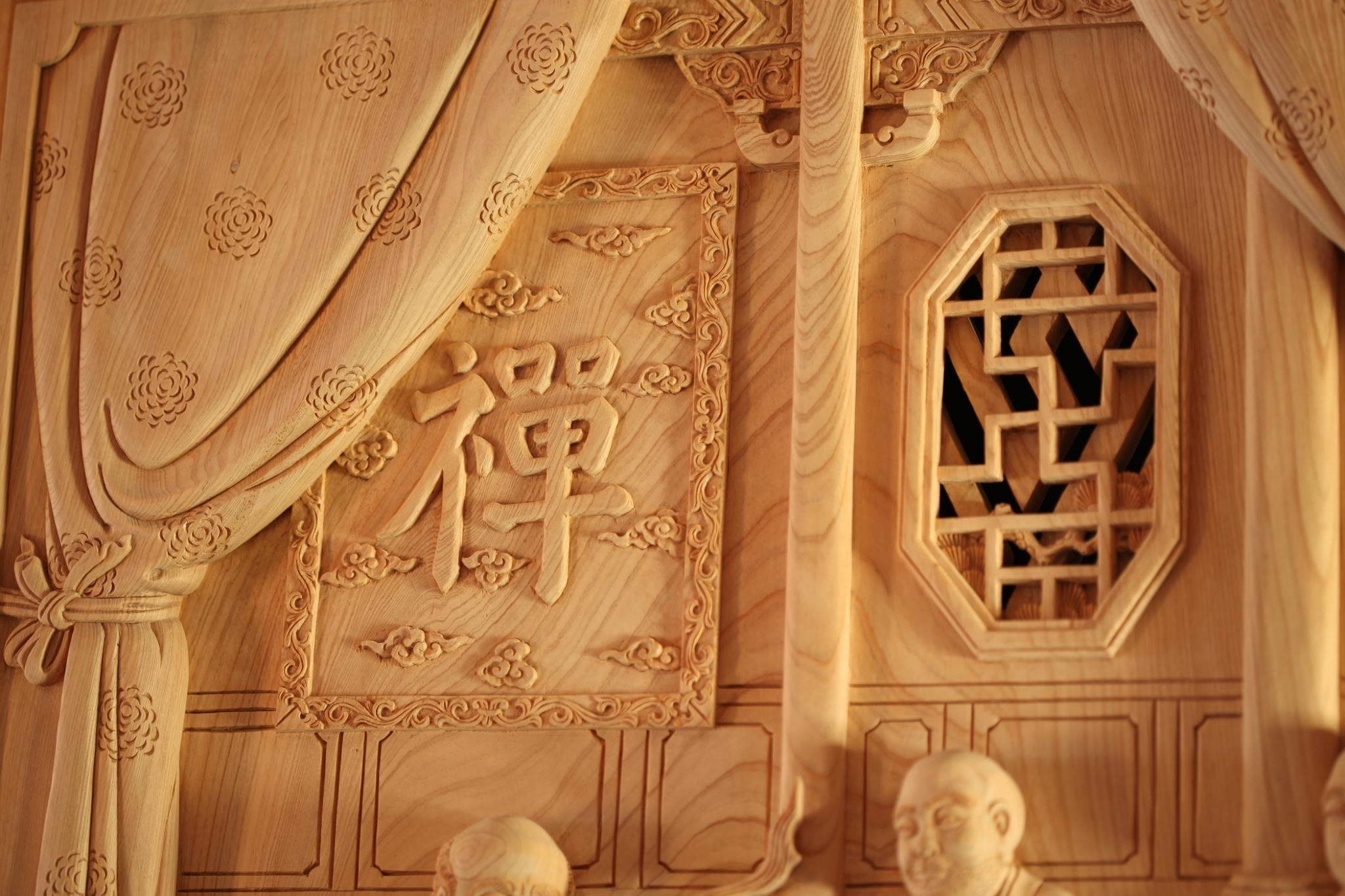 大仙寺檜木建物