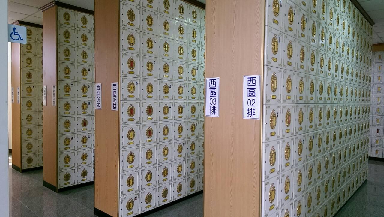 納骨塔2樓櫃位照片(共兩張)
