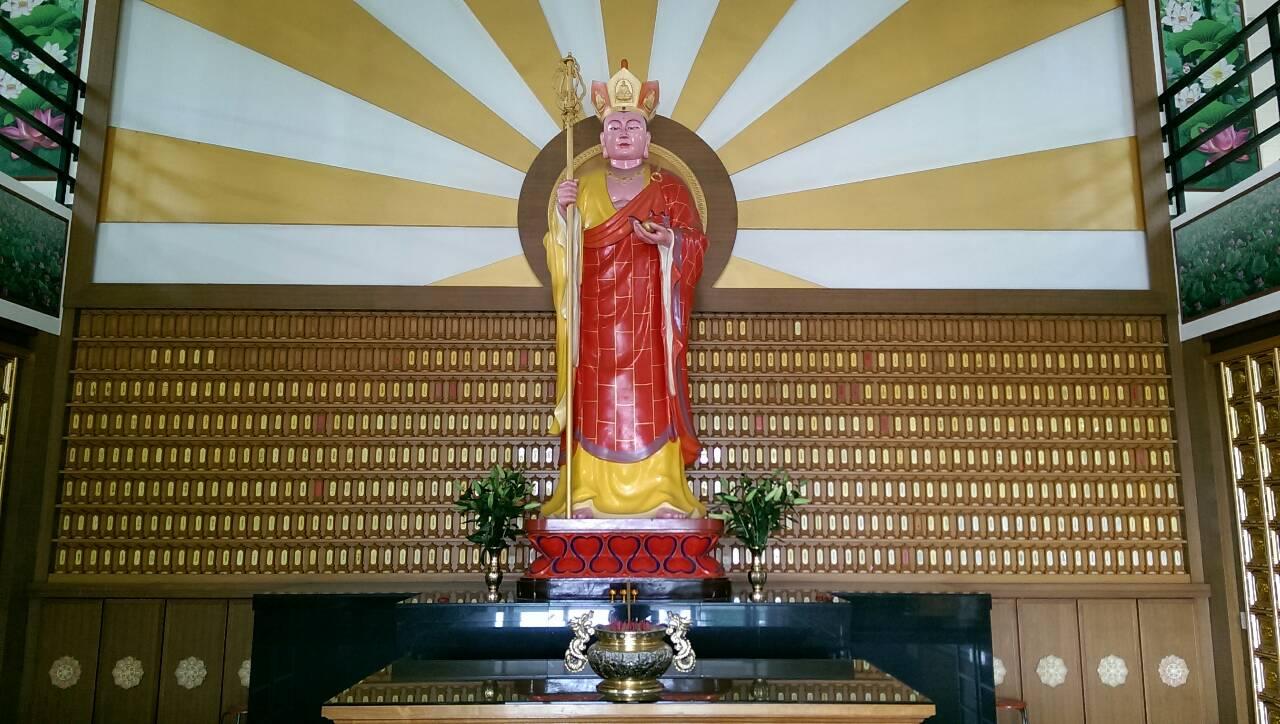 賢德寶塔大廳-地藏王菩薩照片