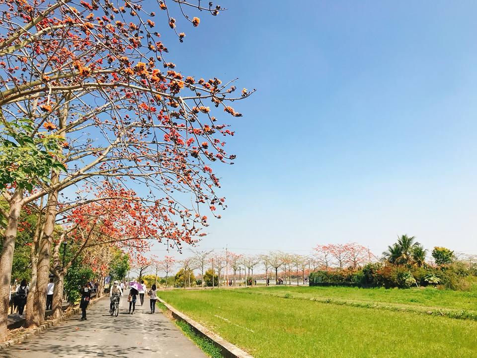 林初埤純樸美麗的風光