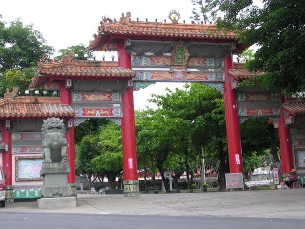大仙寺入口(近照)