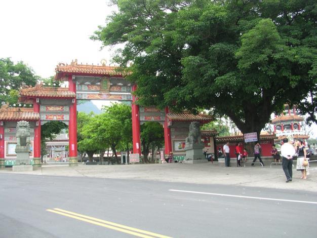大仙寺入口(遠照)