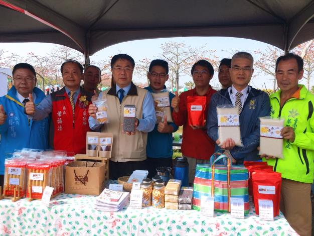 黃市長行銷台南特色農產品