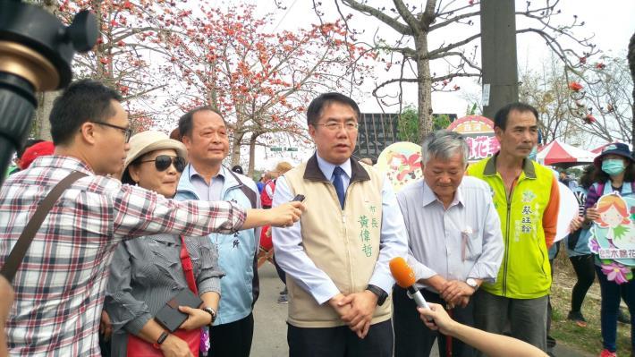 媒體記者訪問市長