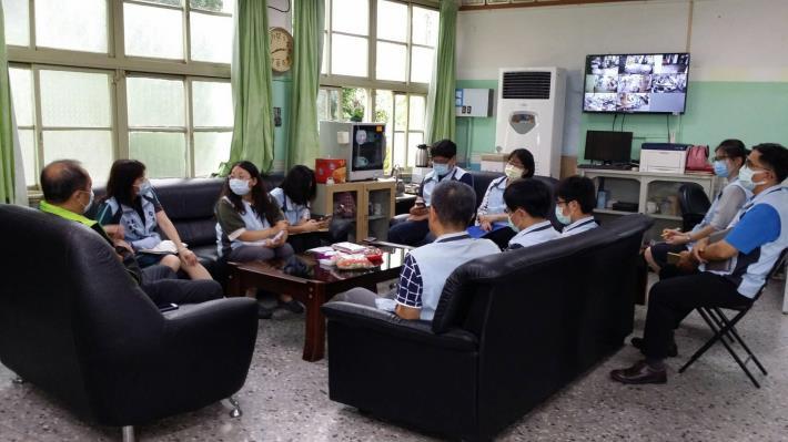 因應0521豪雨,公所內各防災編組成員召開會議