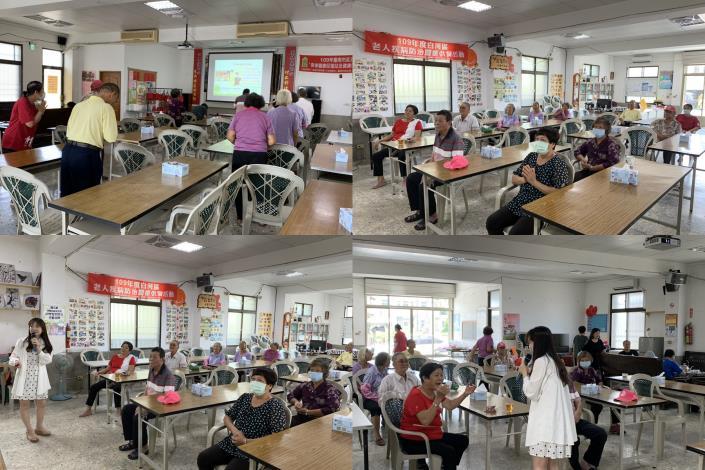 羽姍老師以流利的國台語雙聲道為長輩們介紹越南文化