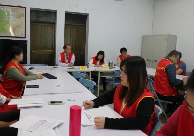 相關課室人員均出席會議