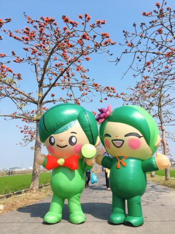 白河區吉祥物-蓮花寶寶