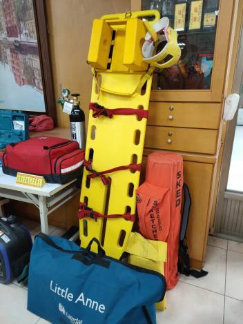 虎尾寮緊急救援隊裝備展示