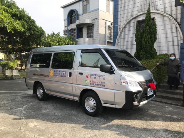 1100109台南市社會局感謝台南中區扶輪社及邱戴冊里女士捐贈物資車新聞稿-2