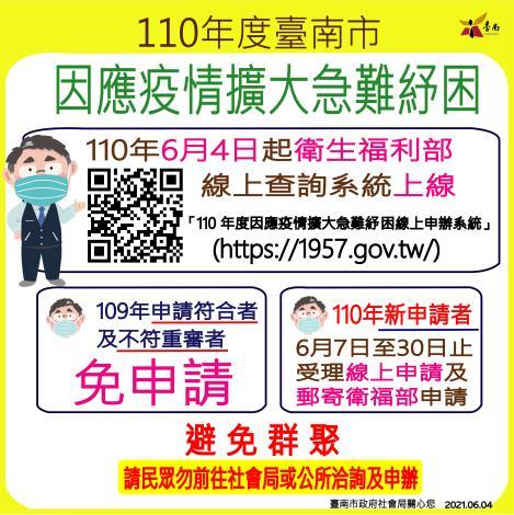110.06.08-110年度臺南市因應疫情擴大急難紓困綜合版-01-01-01