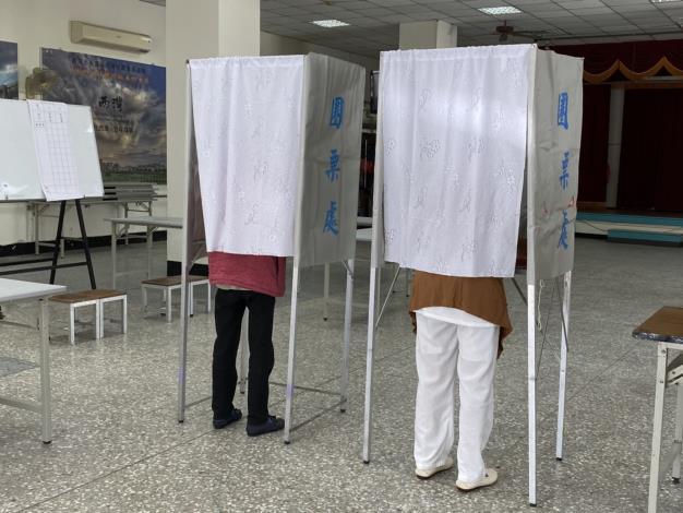 永康區民眾投票情形