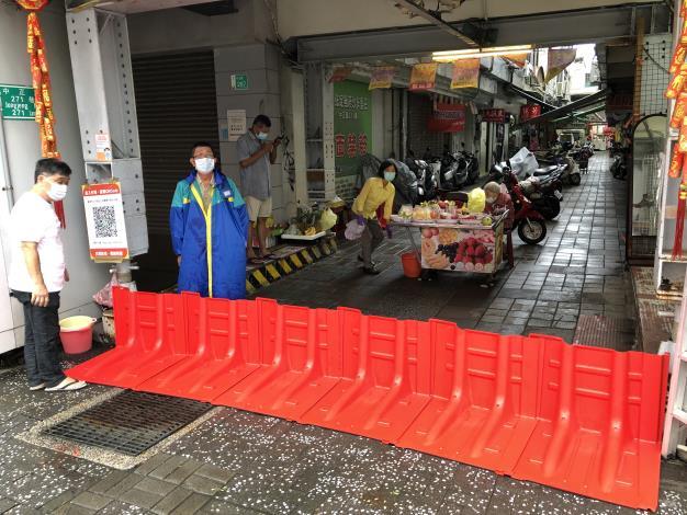 沙卡里巴市場防颱措施2