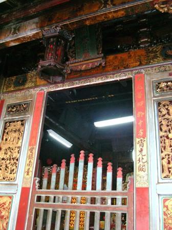 八吉境關帝廳正殿前景