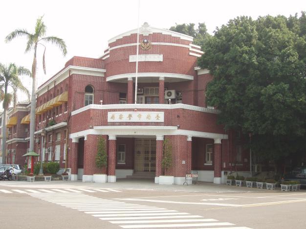 原臺南警察署(修護前-紅磚建築)