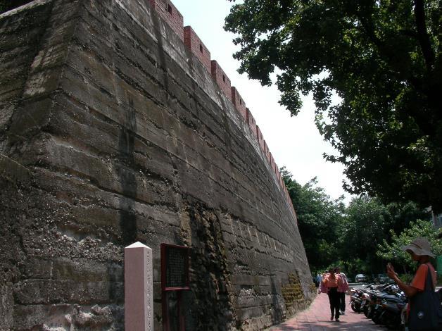 南門城垣殘蹟一景