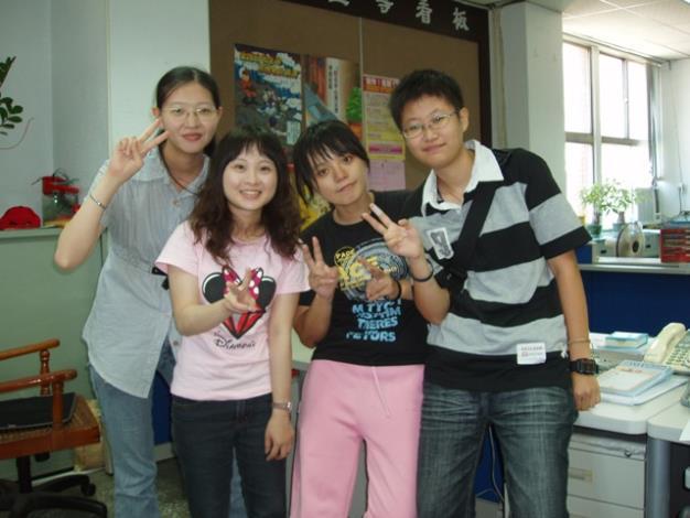 嘉南藥理科技大學社工系4位學生,展開區公所實習的新生活