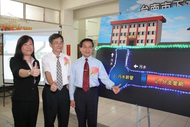 臺南市下水道用戶接管工程開工典禮