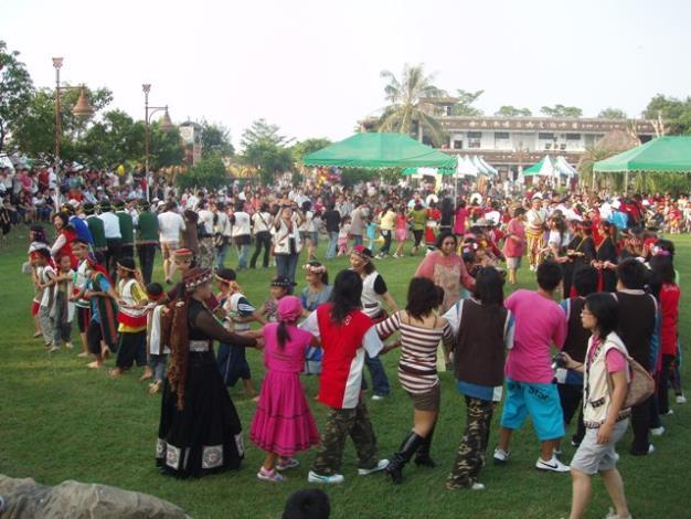 2008府城原住民日活動熱情共舞