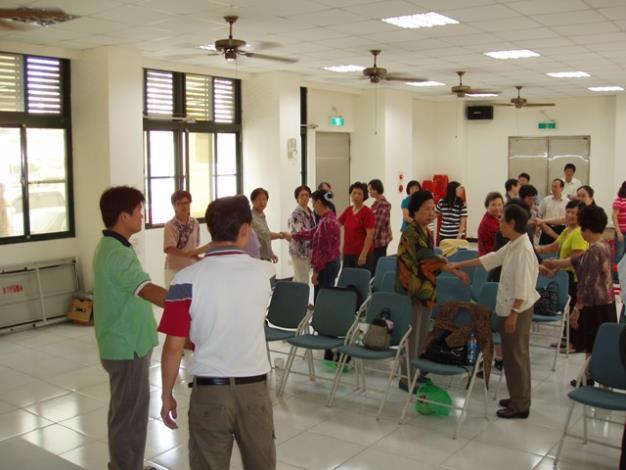 民防課程─自衛術示範教學及共同演練