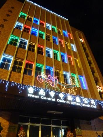 區公所聖誕點燈燈飾設計