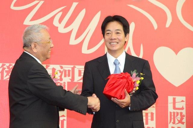 賴清德市長就職接任改制直轄市之臺南市第一屆市長(圖片來源:99.12.25市政新聞)