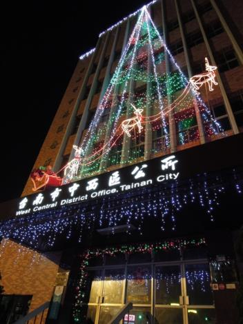 中西區公所聖誕燈飾