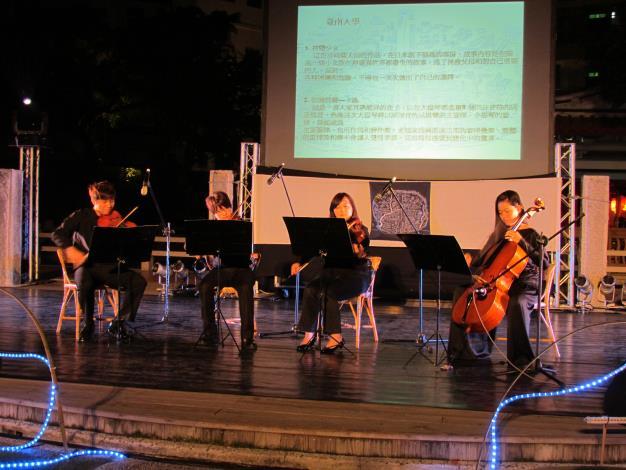 臺南大學音樂系同學「提琴演奏」