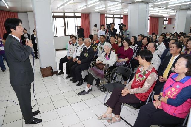 「澄輝日照中心」開幕揭牌-市長致詞