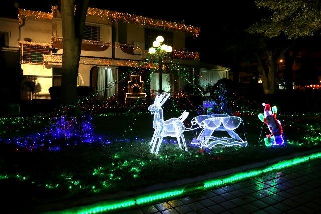 市長官邸耶誕節燈飾一景