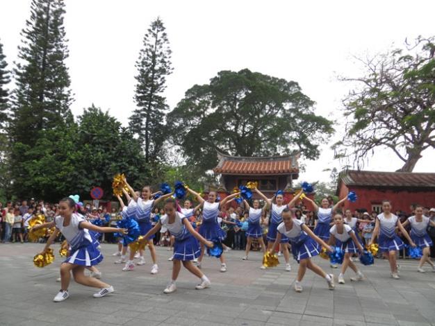 中山國中舞蹈表演