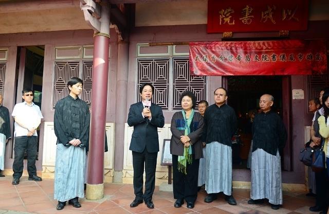 賴市長期許藉由本次分香儀式能促進臺南高雄的文化交流