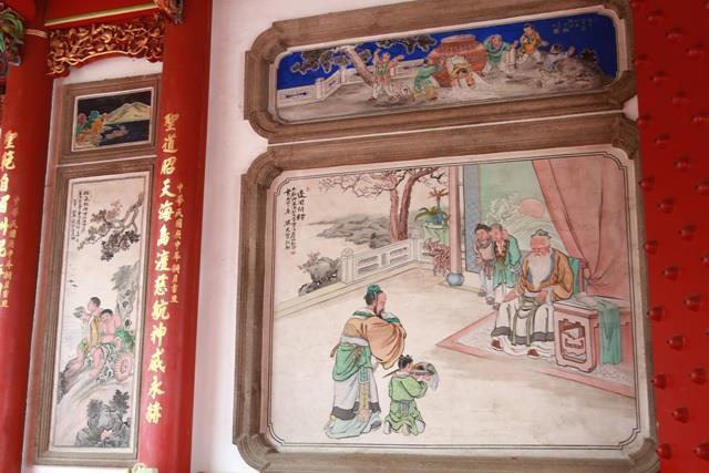 陳玉峰修復之大天后宮壁畫