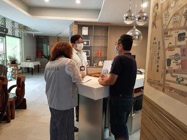 臺南市防疫旅館全面稽查 杜絕形成防疫破口(共4張)-3