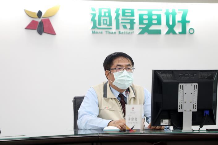 台南市緊急召開COVID-19疫情會議 黃偉哲要求各局處落實防疫作為(共7張)-2