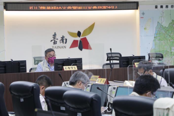 興達電廠停機 黃偉哲指示南市府開設災害應變中心 要求第一時間維護市民權益(共2張)-1
