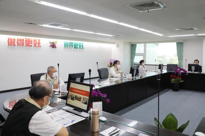 黃偉哲指示整備台南市醫療及篩檢量能 隨時準備迎接疫情擴大情況