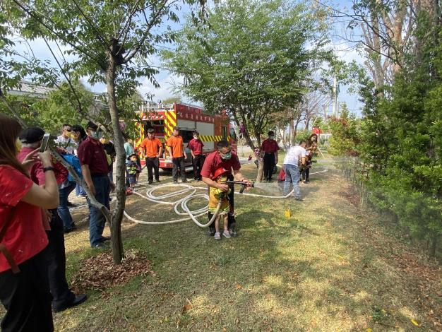 消防局-結合慈濟基金會推動防災教育