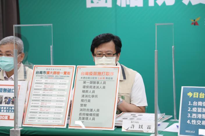黃偉哲報告台南新增2例個案資訊 同時開罰西港群聚賭博84萬及性交易90萬(共4張)-4