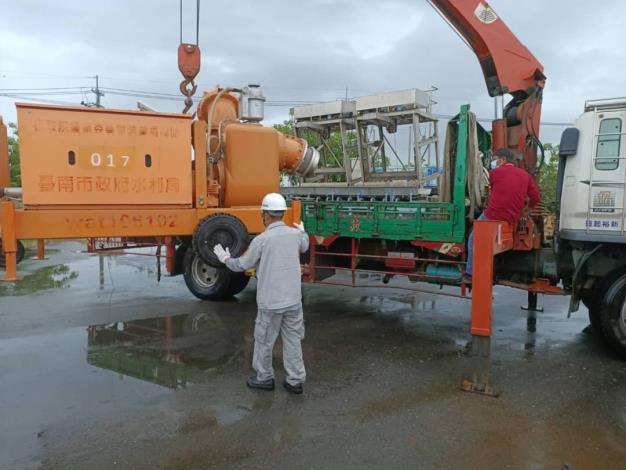 輕颱彩雲及梅雨鋒面逼近 南市水利局啟動應變機制