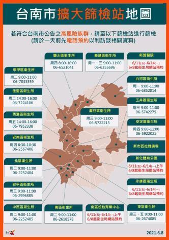 台南今(8)日新增1例本土確診個案,詳實提供TOCC資訊,保護家人朋友減少感染風險(共11張)-5