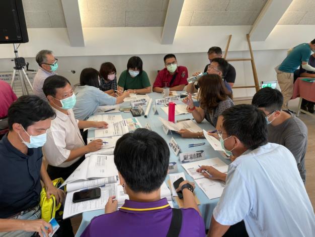 歸仁區公所-燦樹颱風來南關線四區面對複合式災害想定最有力的合作體驗