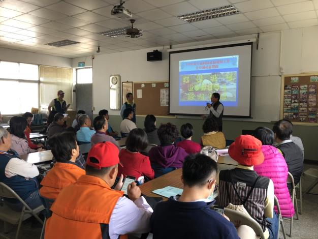 公所帶領所轄社區參訪溪美社區活動雙方交流