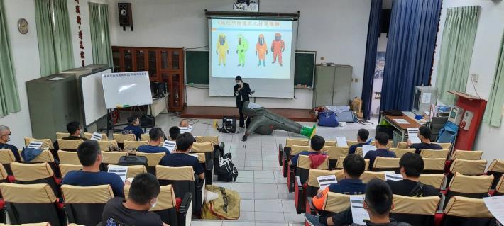 臺南市政府消防局辦理救災裝備檢測實驗室種子教官教育訓練