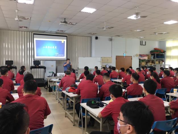 新化訓練中心山難事故處置室內課程