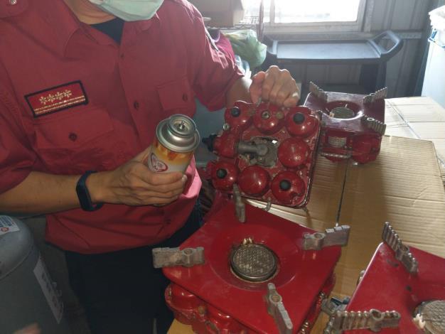 自行私下填充休閒爐或瓦斯罐 危險又違法